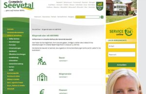 So sieht der neue Online-Auftritt der Gemeinde Seevetal aus. Foto Gemeinde Seevetal
